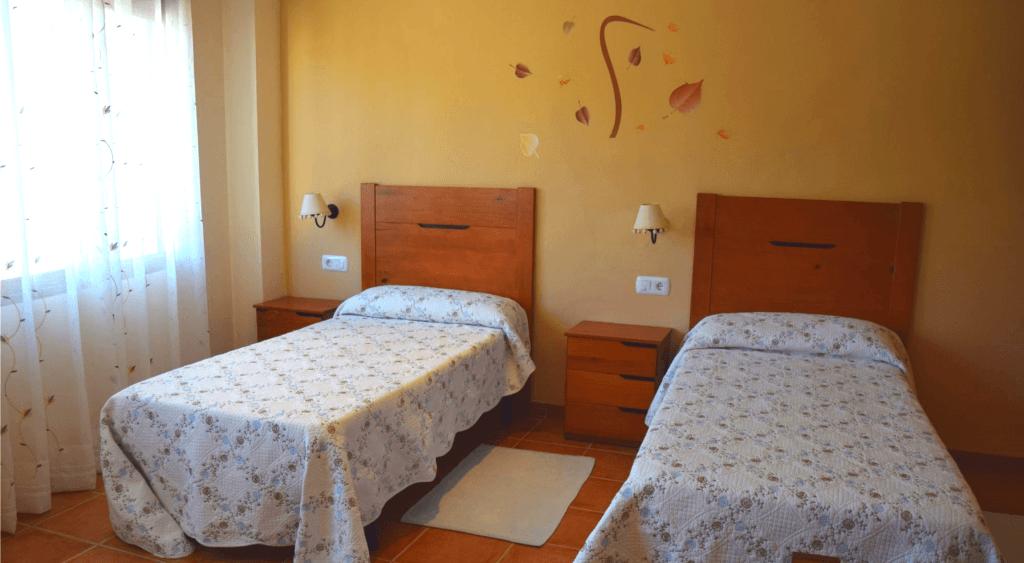 Parte del interior de la habitación Familiar de Dalt de Montanejos