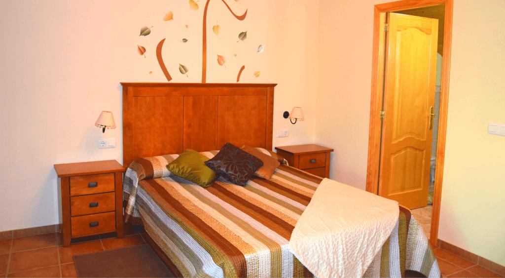 Interior de la Suite Romántica